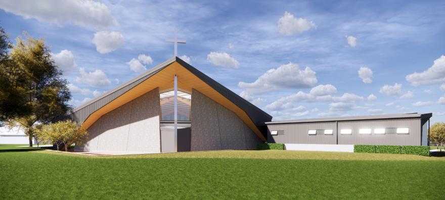 St Pauls Building Concept - Rear Perspective
